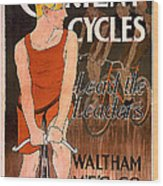 Orient Cycles 1890 Wood Print
