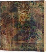 Oriental Glimpse Wood Print