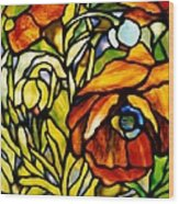 Oriental Poppy Wood Print