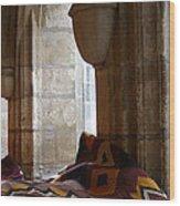 Oriental Rugs In Paris Wood Print by A Morddel