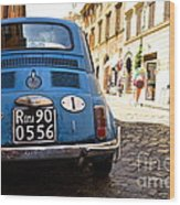 Original Fiat Wood Print by Arthur Hofer