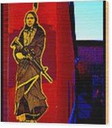 Original Homeland Security Santa Fe Wood Print