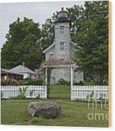 Original Lighthouse Site Wood Print
