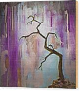Original Painting Expressionist Contemporary Tree Art Wood Print