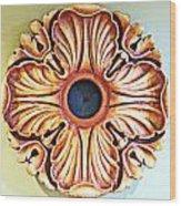 Original Rosette Wood Print