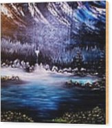 Winter Grace-original Sold-buy Giclee Print Nr 32 Of Limited Edition Of 40 Prints  Wood Print