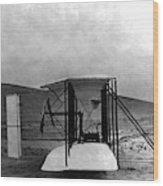 Original Wright Airplane, 1903 Wood Print