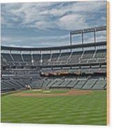 Oriole Park At Camden Yards Stadium Wood Print by Susan Candelario