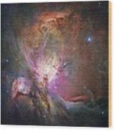Space Hollywood 2 - Orion Nebula Wood Print