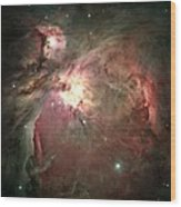 Space Hollywood - Orion Nebula Wood Print