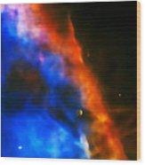Orion Nebula Rim Wood Print