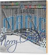Orlando Magic Wood Print