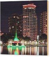 Orlando Panorama Wood Print