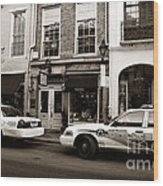 Orleans Pd Wood Print by John Rizzuto