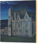Ormonde Castle And Manor By Night Wood Print