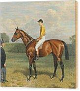 Ormonde Winner Of The 1886 Derby Wood Print by Emil Adam