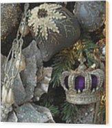 Ornament 164 Wood Print
