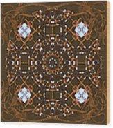 Ornamental Zen Tranquility Wood Print