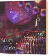 Ornaments-2054-merrychristmas Wood Print