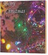 Ornaments-2090-merrychristmas Wood Print