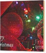 Ornaments-2107-merrychristmas Wood Print