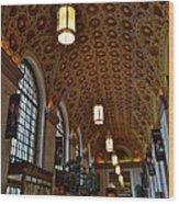 Ornate Entryway Wood Print