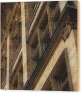 Ornate Facade Wood Print