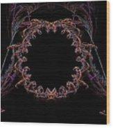 Ornate Stargate Wood Print