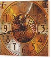 Ornate Timekeeper Wood Print