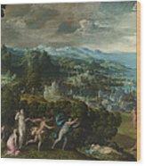 Orpheus And Eurydice Wood Print