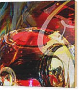 Orrefors Glass Reflecions Wood Print