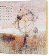 Orrery Wood Print by Bob Orsillo