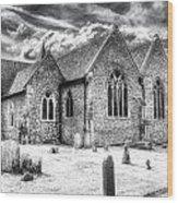Orsett Church Essex England Wood Print