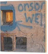 Orson Welles Depository Eleven Mile Corner Arizona 2004 Wood Print