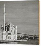 Ortakoy Mosque  Wood Print