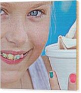 Orthodontic Smile Wood Print