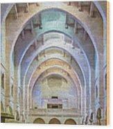 Coptic Church Wood Print