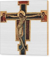 Orthodox Cross Wood Print