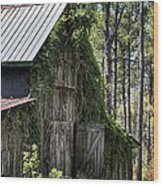 Orton Plantation Barn Wood Print