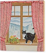 Oscar Carlton-jones, 1988 Wood Print