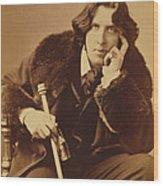 Oscar Wilde 1882 Wood Print