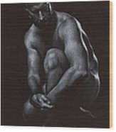 Oscuro 10 Wood Print