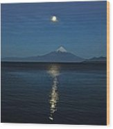Osornos Volcano Wood Print