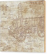 Ossewa Wood Print