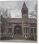 Osu Orton Hall  Wood Print