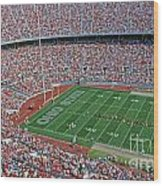 36l456 Osu Stadium Wood Print