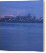 Ottawa By Night 2 Wood Print