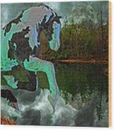 Otter Lake Phantom Wood Print