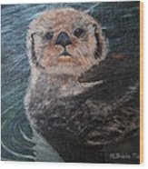 Ottertude Wood Print