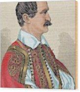 Otto I (1815-1867 Wood Print